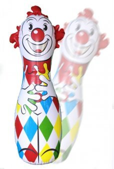 Classic Clown Big Bop Bag Toy Schylling