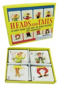Heads and Tails Retro Preschool Card Game