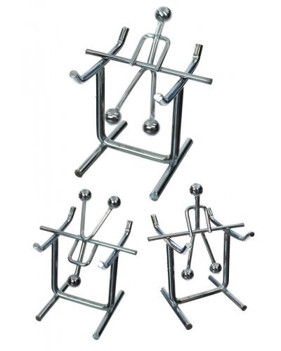 Acrobat Balancing and Spins Silver Wire Mini