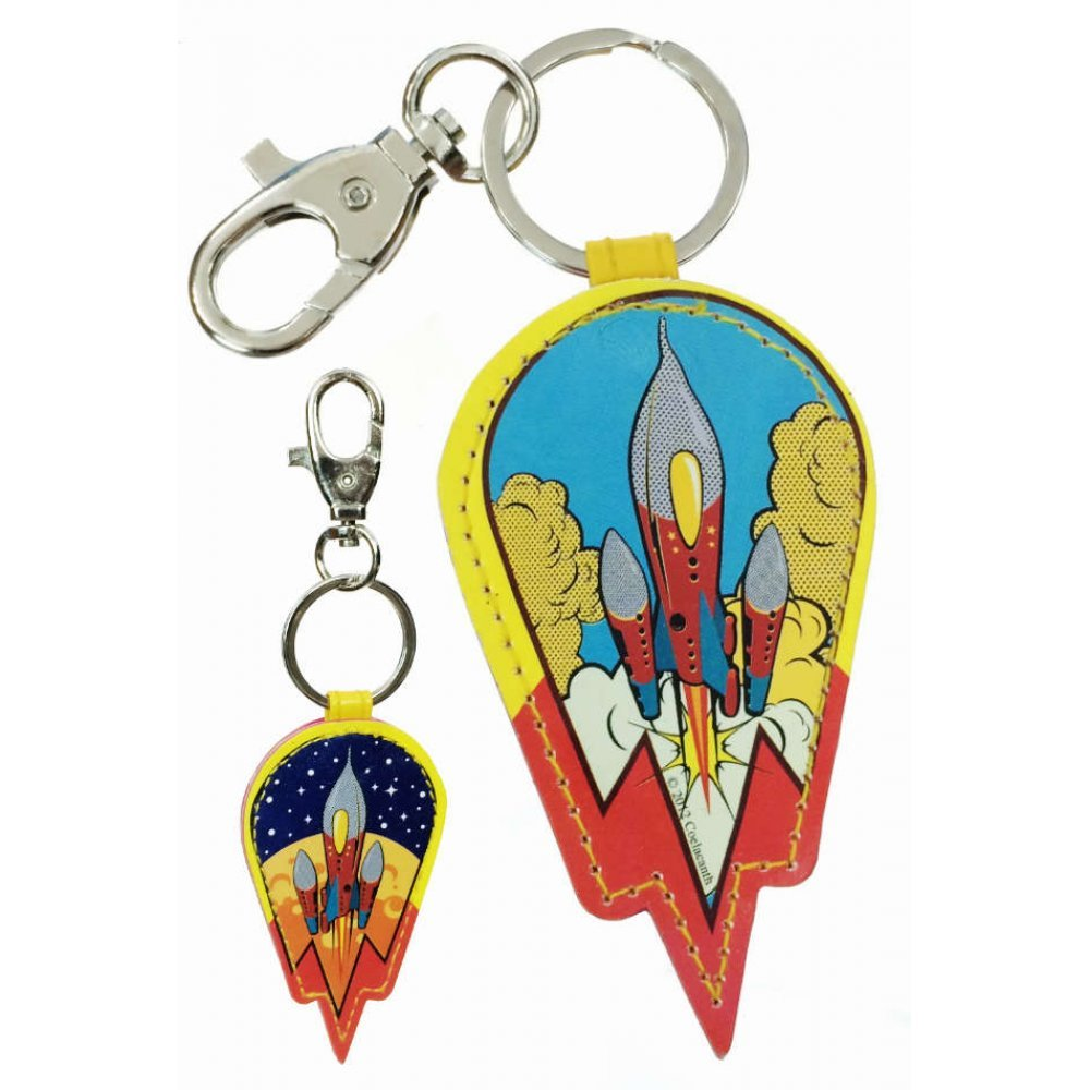 THE BEATLES MAGICAL MYSTERY TOUR SPINNING DELUXE KEYCHAIN