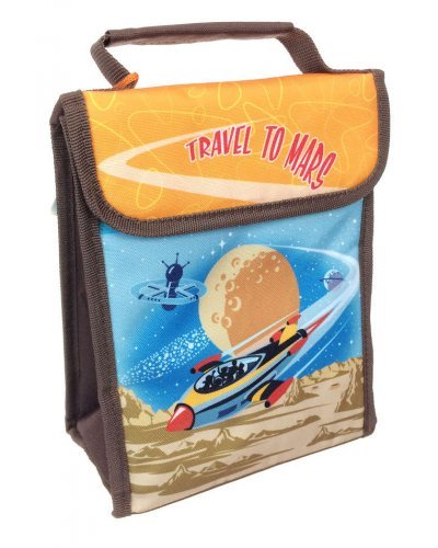 Travel to Mars Rocket Lunch Sack R-2211