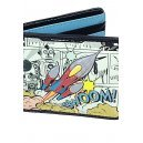 Sky Rocket Wallet Retro Graphic Coelacanth