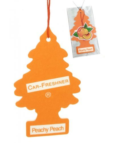Peachy Peach Little Tree Retro Car Ornament