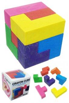 Crayon Cube 3D Rubik's Puzzle 7 Colors