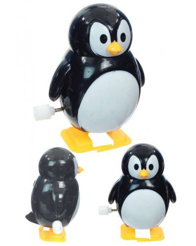 Pete the Penguin Walking Wind Up Winter