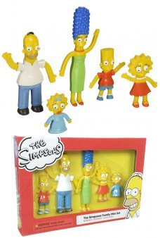 Simpsons Bendable Family Mini Set NJ Croce