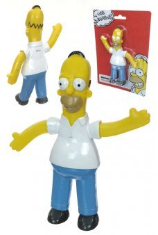 Homer Simpson Large Bendable NJ Croce