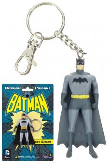 Batman Metal Keychain Bendable Figure