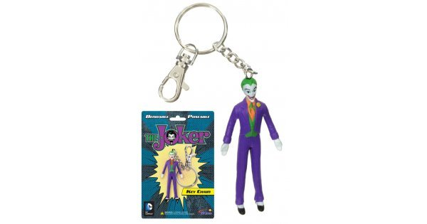 Joker Bendable Key Chain Super Hero NJ Croce - In Stock 6aeedd7da