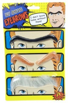 Eye Brows Self Adhesive Hair Fake Set of 3