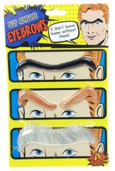 Eye Brows Self Adhesive Hair Fake Set of 3