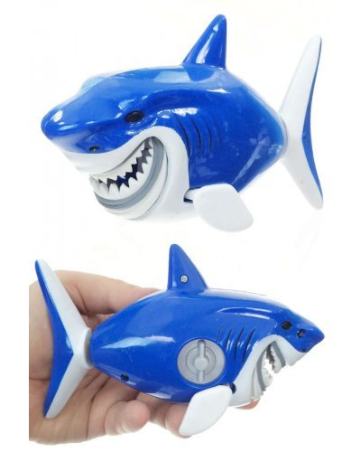 Bruce the Blue Shark Swimmer Water Windup