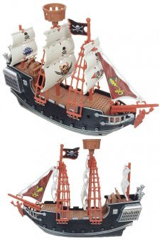 Large Pirate Ship on Wheels Action Adventure