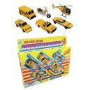 Construction Play Metal Set of 6 Vehicles