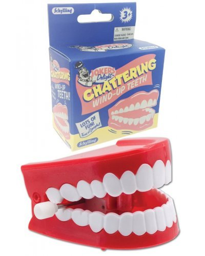 Chattering Teeth Wind Up Mouth Schylling