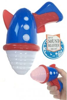 Retro Ray GunSound Blaster with Lights