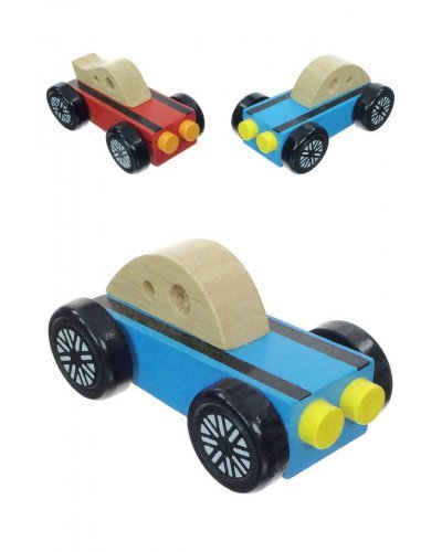 Preschool Wood Car Racer Play Mini