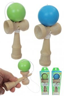 Kendama Mini Japanese Wooden Ball Game