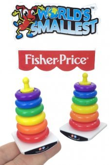 Rock-A-Stack World's Smallest Fisher Price