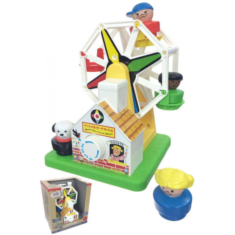 Ferris Wheel Music Box Fisher Price : Preschool Classic Toys 1966