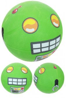 Green Robot Basketball Playground Ball