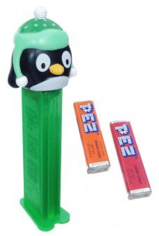 Christmas Penguin PEZ Candy Dispenser