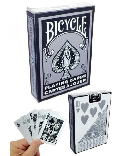 Bicycle Black and Silver Playing Cards USA