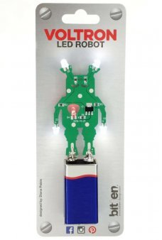 Voltron LED Robot with Glowing Heart Hands