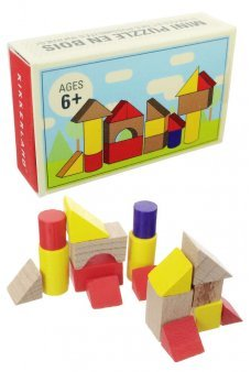 Architect Mini Building Blocks Toys Wooden