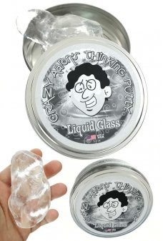 Liquid Glass Thinking Putty Clear Crazy Aaron