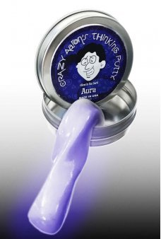 Aura Purple Glowing Mini Thinking Putty