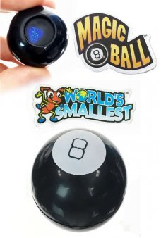 Magic 8 Ball World's Smallest Fortune Toy