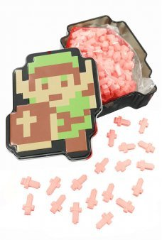 Zelda Link Orange Sword Sours Candy Tin