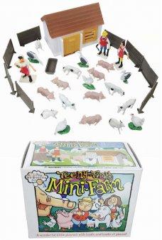 Teeny Tiny Mini Farm Playset 31 Pieces