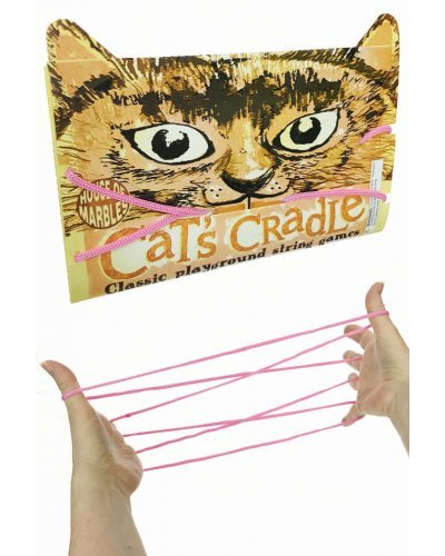 Cat's Cradle Pink String Game Patterns