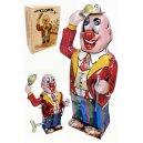 Tin Toy Clown Dandy Tips Hat