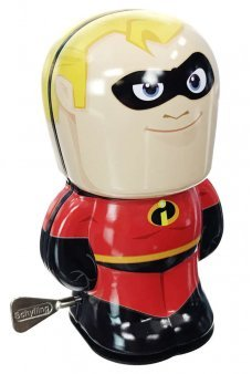 Mr Incredible Tin Toy Windup Super Hero
