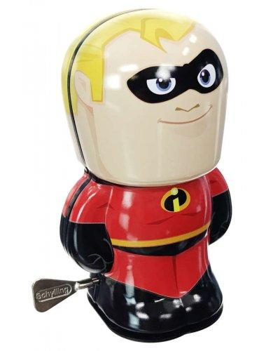 Mr Incredible Tin Toy Windup Super Hero