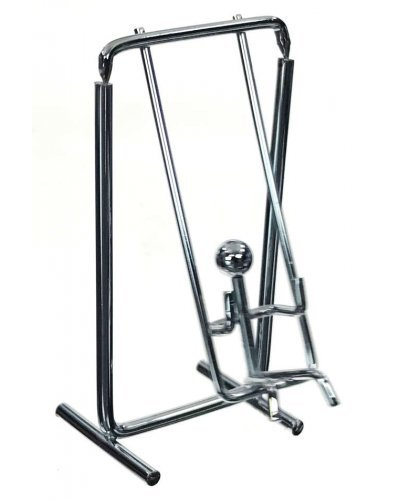 Mini Swing Balancing Chrome Sculpture