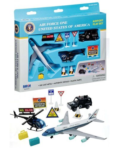 President Air Force One USA Airport Playset