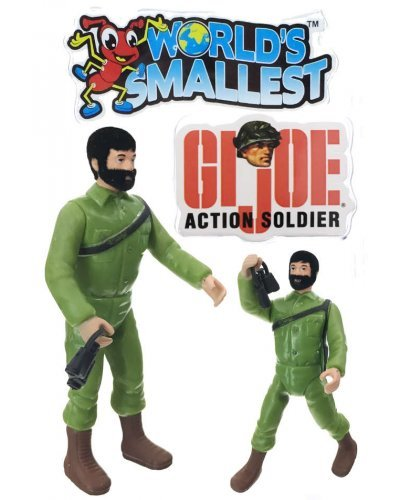 GI Joe Action Soldier Worlds Smallest Man