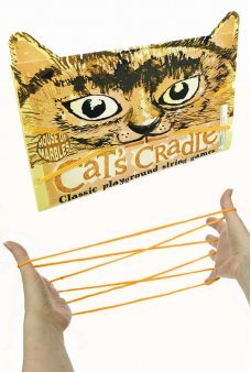 Cat's Cradle Orange String Game Patterns
