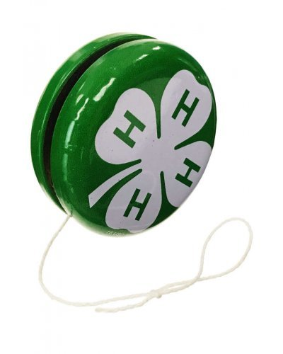 4-H Club YoYo Tin Toy Green America