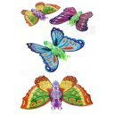 Colorful Butterfly Large Wings Wind Up