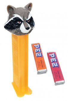 Rocket Raccoon PEZ Dispenser Guardians
