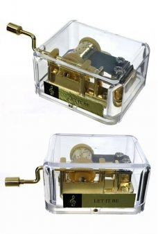 Let It Be Crank Gold Music Box Beatles