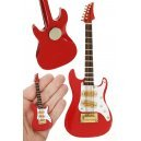 Electric Guitar Magnet Red Strat Rock n Roll