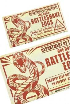 Rattlesnake Eggs Prank Practical Joke UK