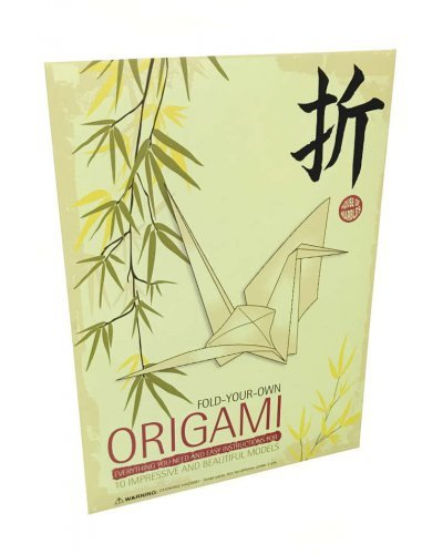 Origami Set Folding Paper Kit Japanese Art Toys 20 Sheets