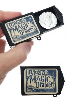 Wizard's Magic Drawer Illusion Coin Magic